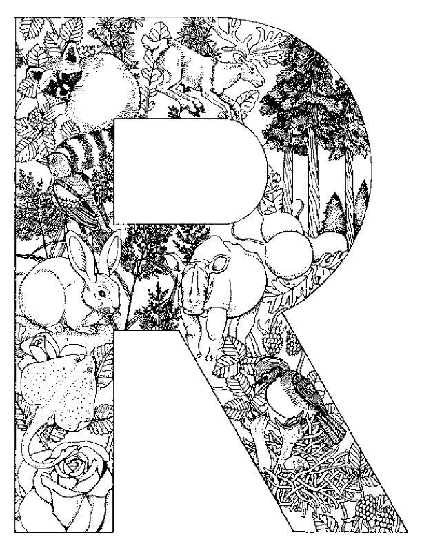 Alphabet tieren Malvorlagen - Malvorlagen1001.de