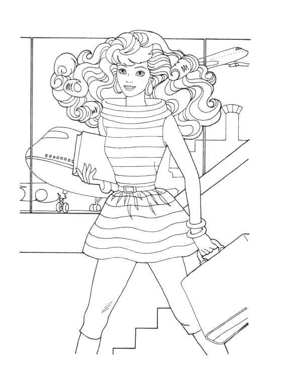 Barbie Malvorlagen - Malvorlagen1001.de