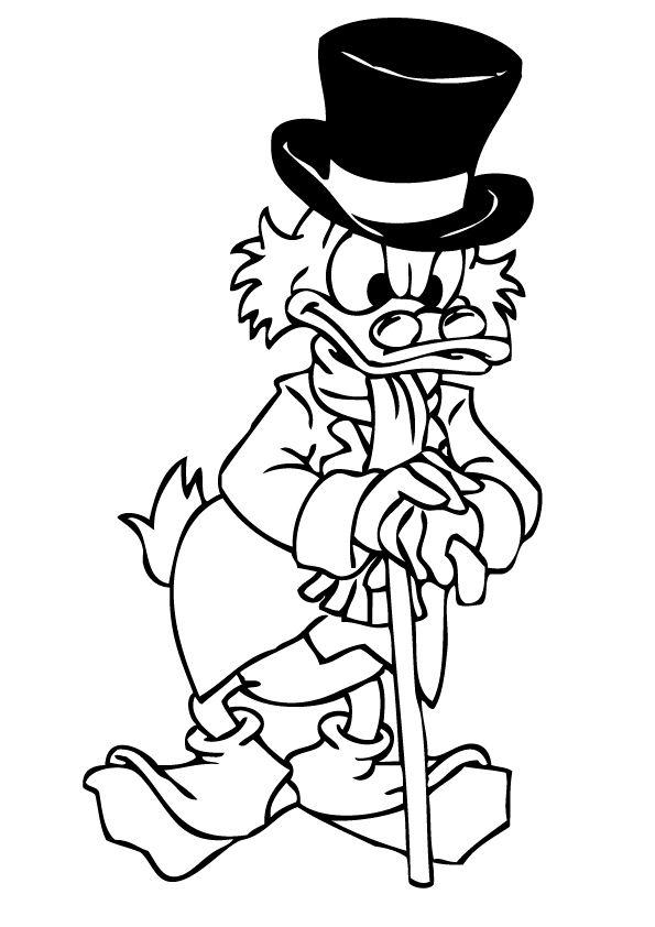 dagobert duck malvorlagen malvorlagen1001 de