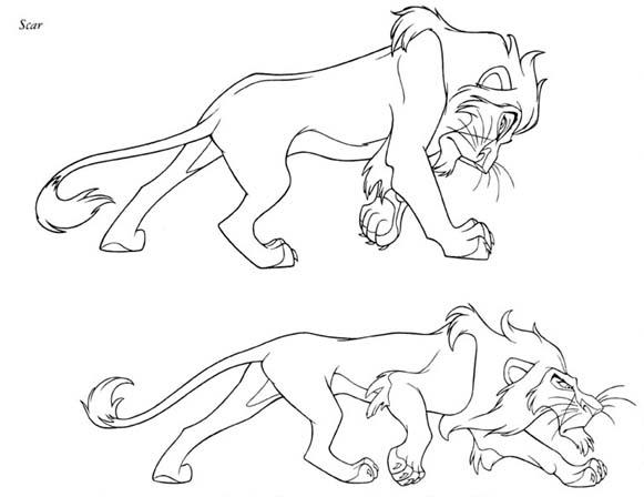 Ziemlich Ausmalbilder Zum Ausmalen Von Löwen König Baby Simba Ideen ...