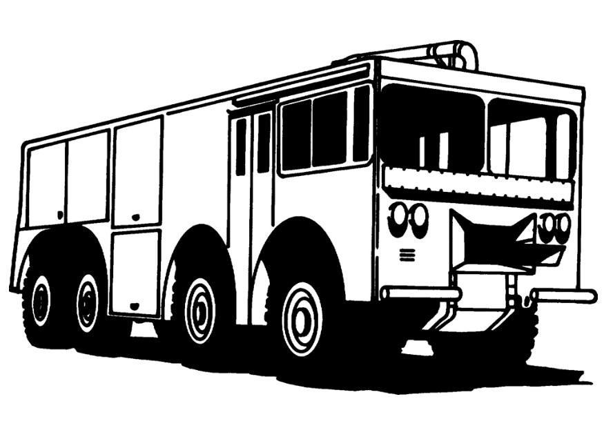 Feuerwehr Malvorlagen Malvorlagen1001 De