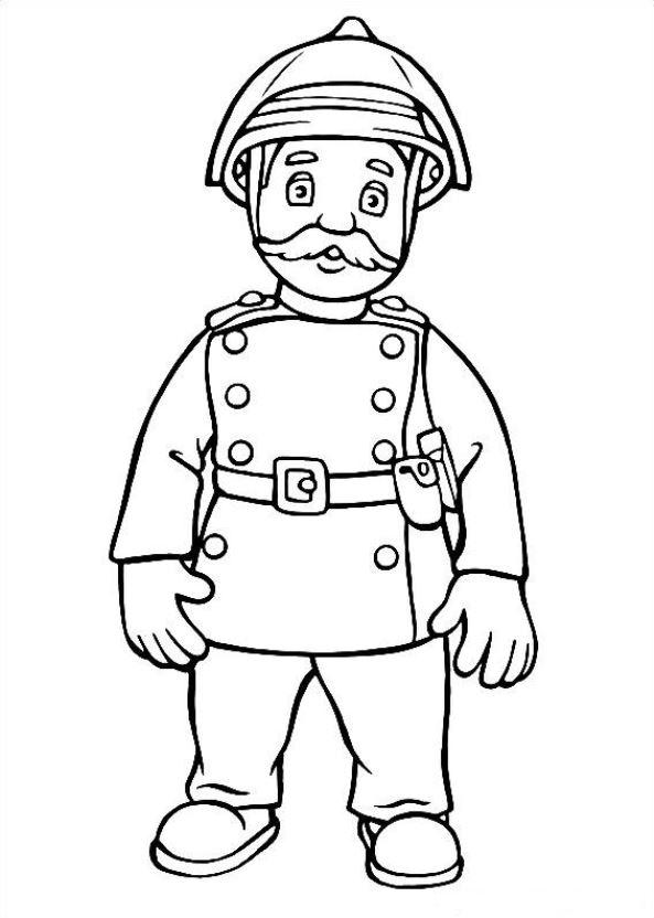 Feuerwehrmann Sam Malvorlagen Malvorlagen1001de