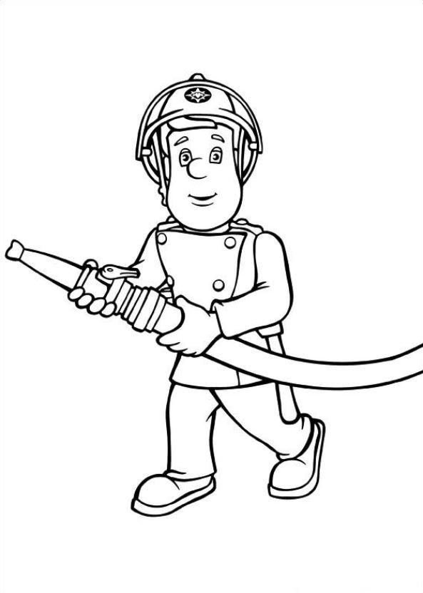 Feuerwehrmann Sam Malvorlagen Malvorlagen1001 De