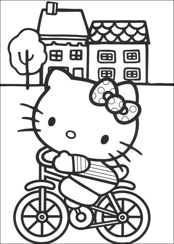 Hello kitty Malvorlagen - Malvorlagen1001.de