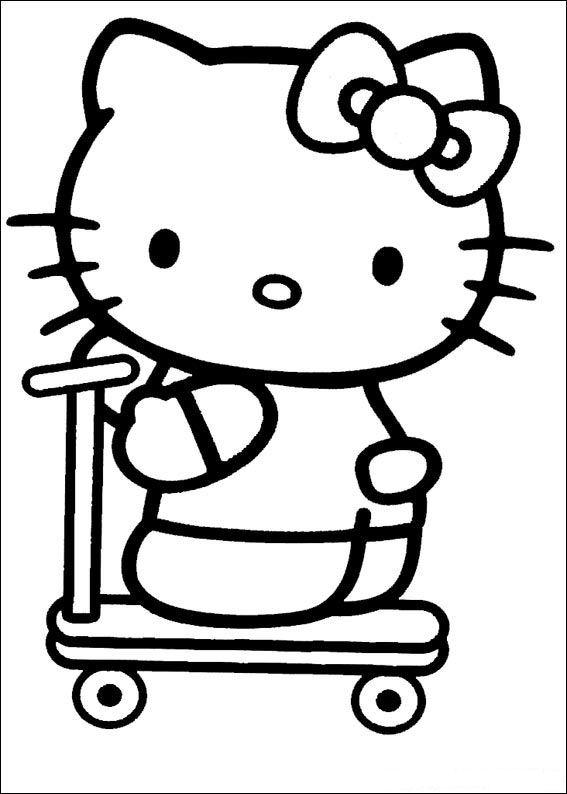 Hello kitty malvorlagen - Coloriage hellokitty ...