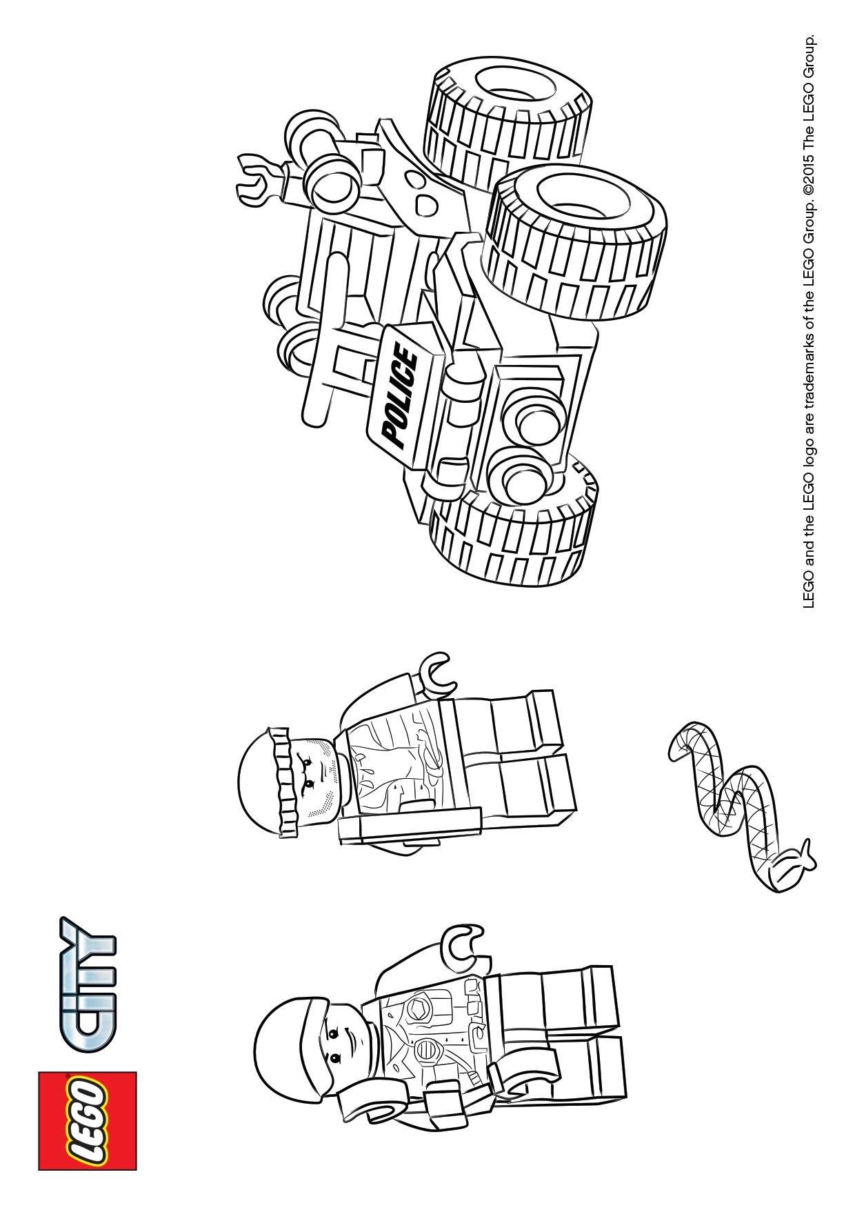Lego city Malvorlagen - Malvorlagen10.de