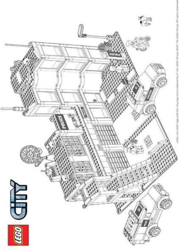 Lego City Malvorlagen Malvorlagen1001 De