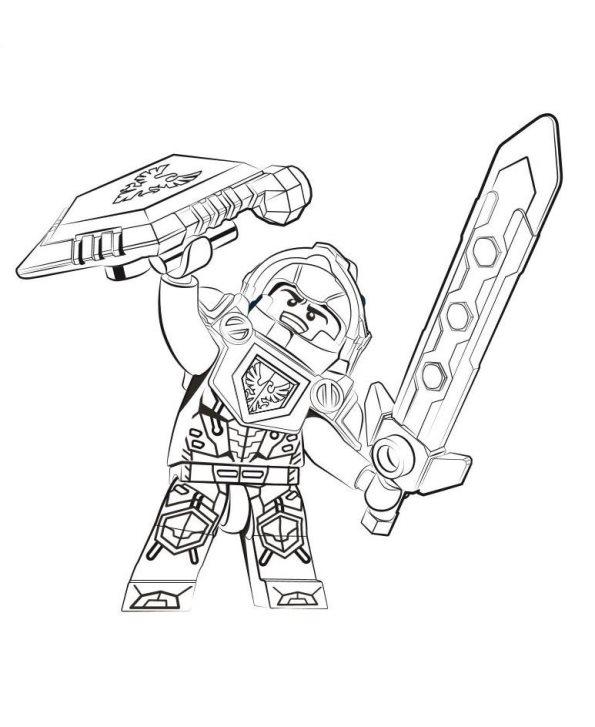 Lego Nexo Knights Malvorlagen Malvorlagen1001 De