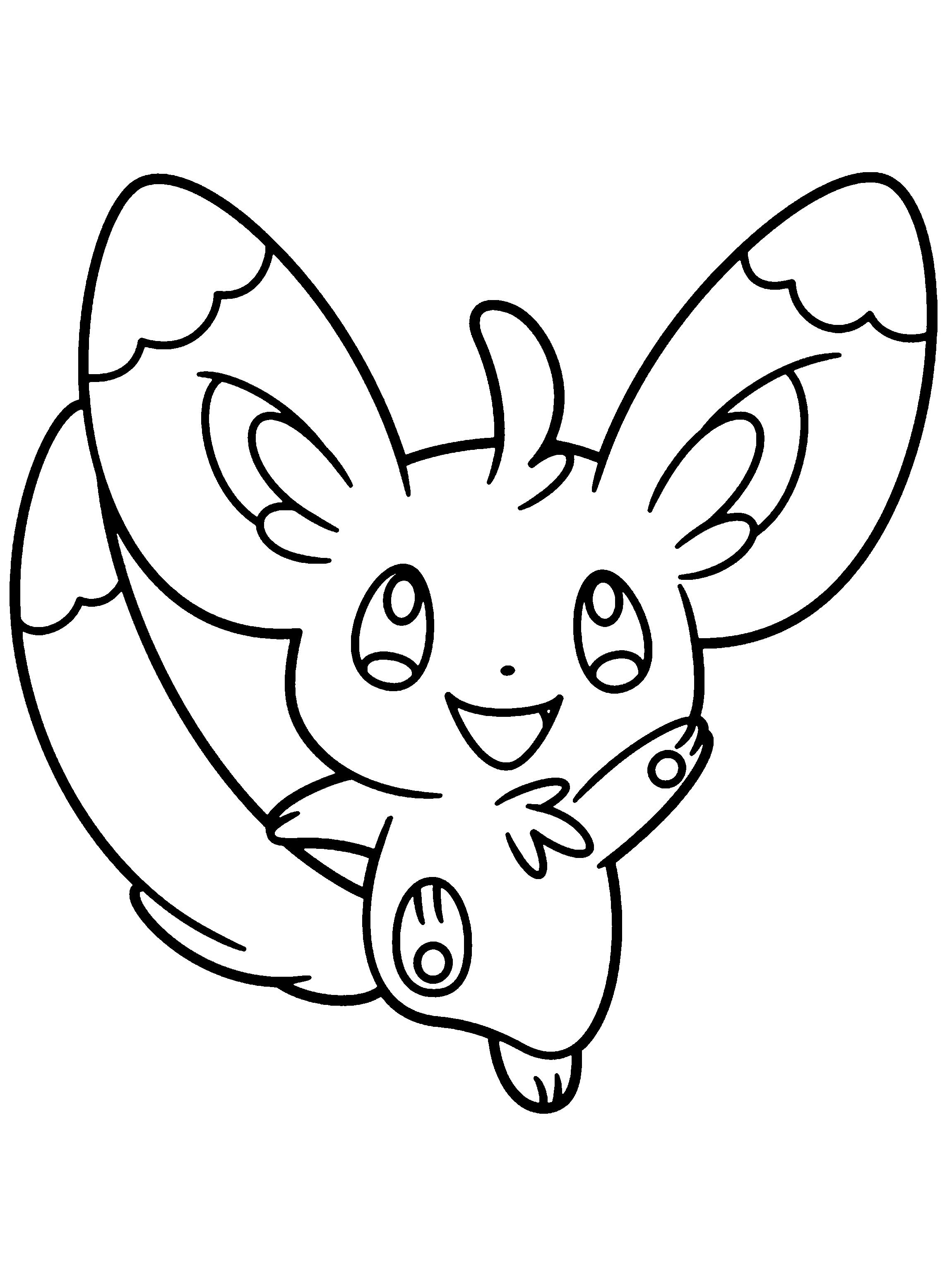 Kleurplaten Pokemon Xyz Pokemon Black Malvorlagen Malvorlagen1001 De